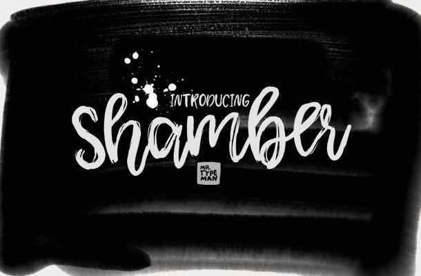 Shamber Script Font