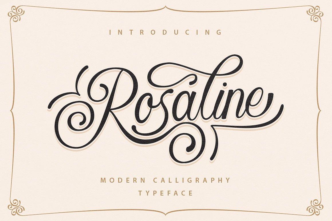 rosaline-script-font
