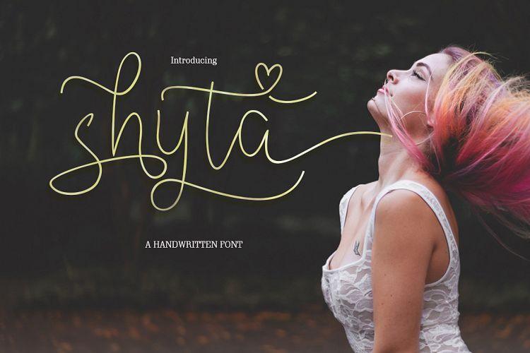 shyta-script-font