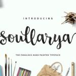 Soullarya Script Font