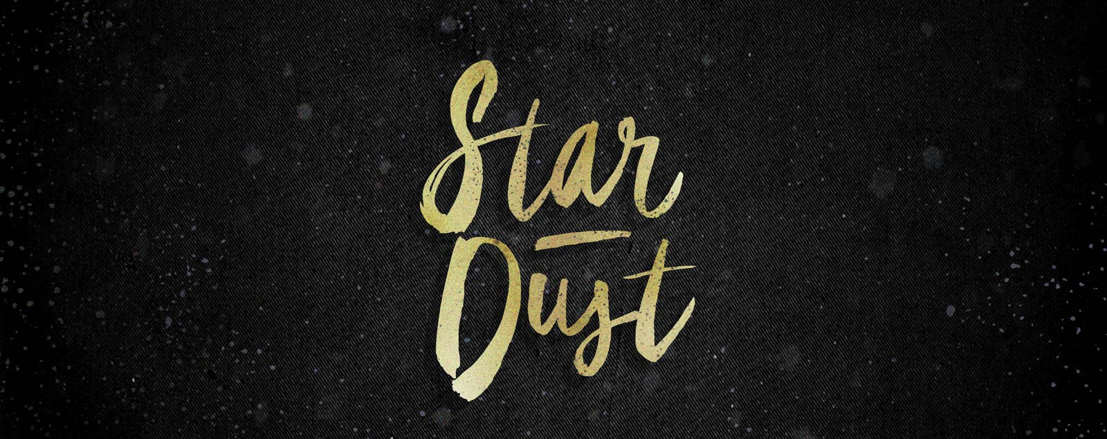 star-dust-brush-font