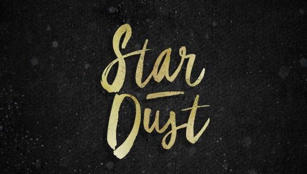 Star Dust Brush Font