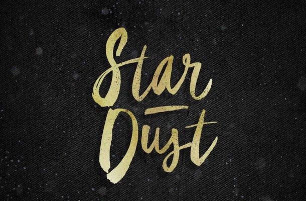 Star Dust Brush Font
