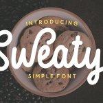 Sweaty Script Font
