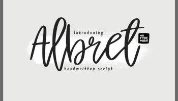 Halbrein Script Font - Free Fonts