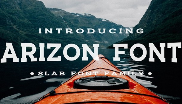 Arizon Slab Font Family