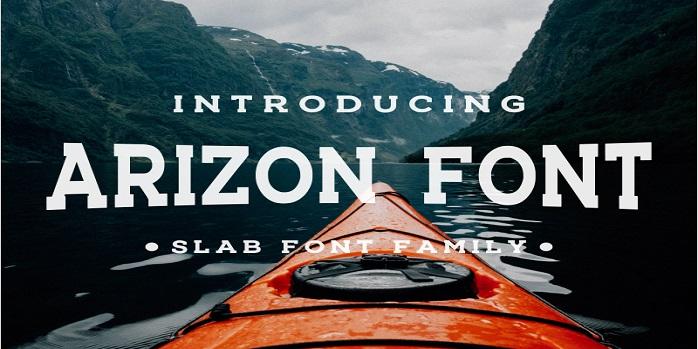 Arizon Slab Font Family