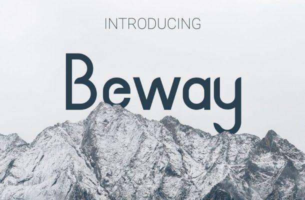 Beway Typeface Free