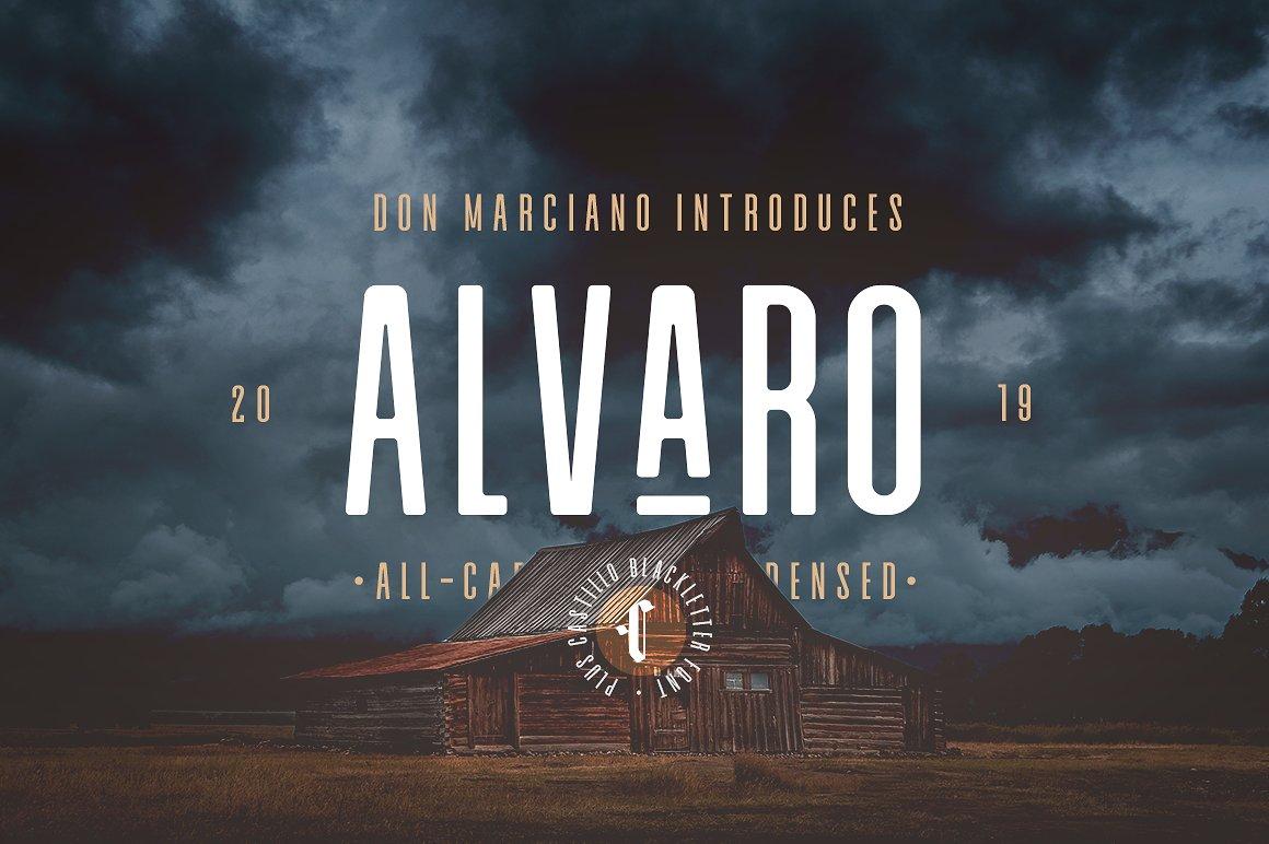 alvaro-condensed-font-duo