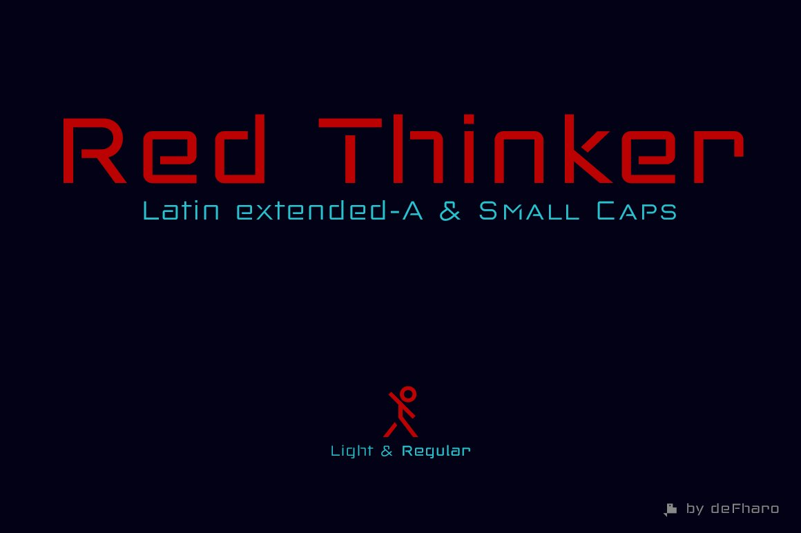 red-thinker-sans-small-caps-
