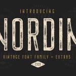Free Nordin Vintage Font