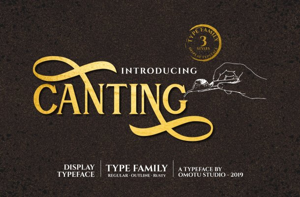 Canting Font