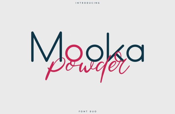 Mooka Powder Font Duo