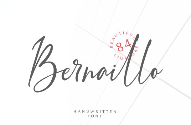 Free Bernaillo Handwritten Font
