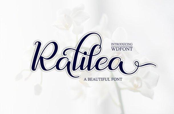 Ralilea Font