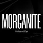 Morganite Condensed Font