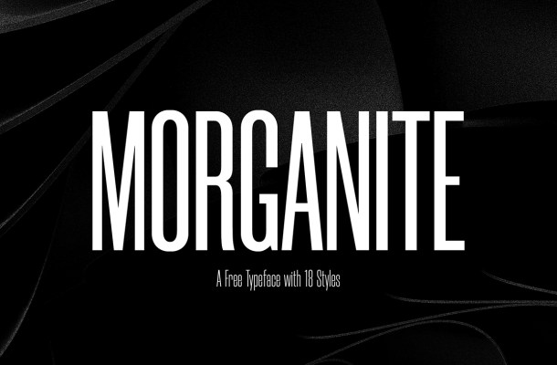 Morganite Condensed Font