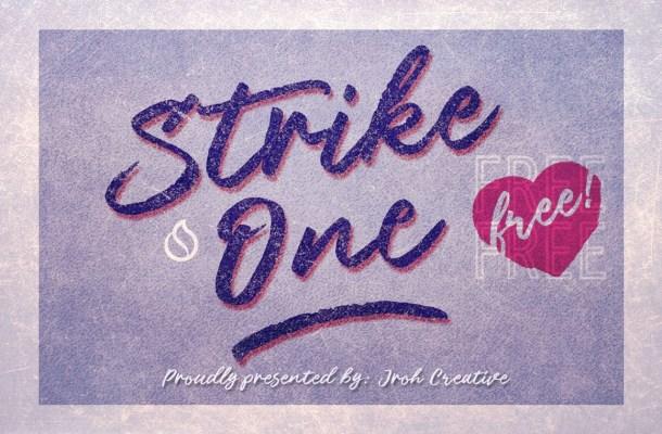 Strike One Font