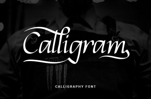 Calligram Font