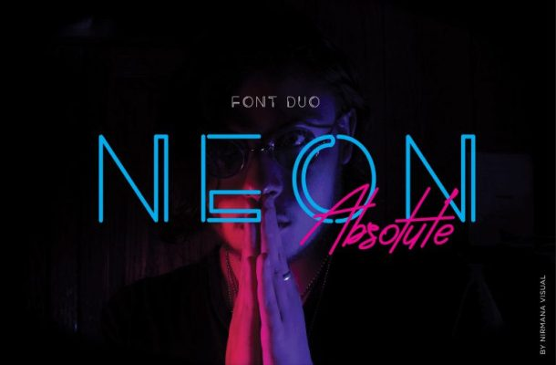 Neon Absolute Typeface