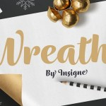 Wreath Font Family