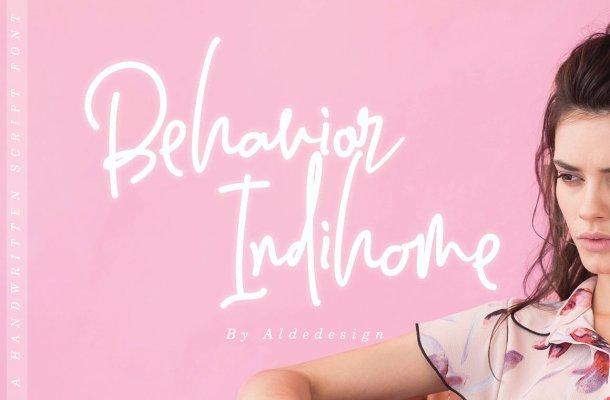 Behavior Indihome Font