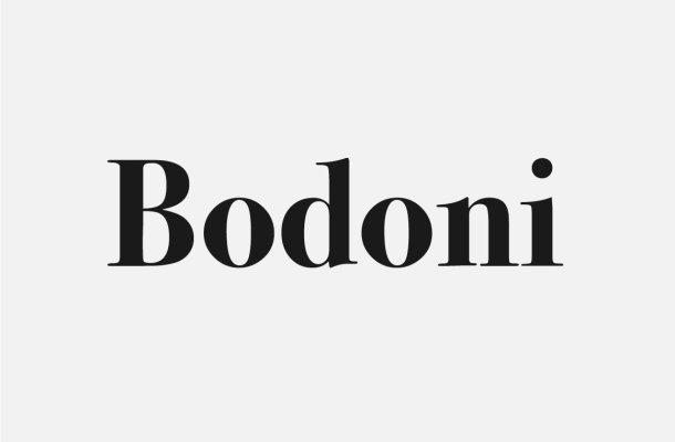 Free Bodoni Font