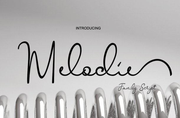 Melodie Script Font