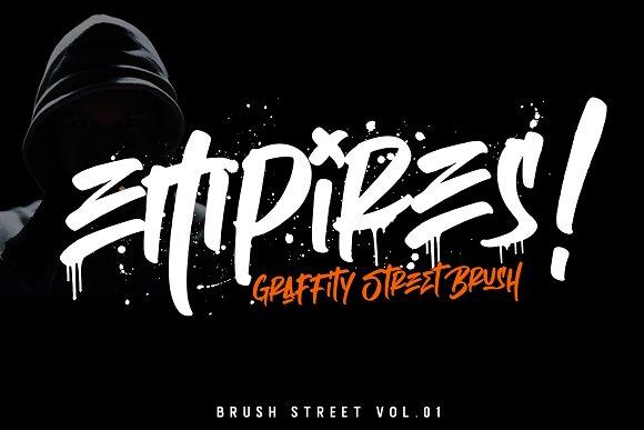 Empires Brush Font