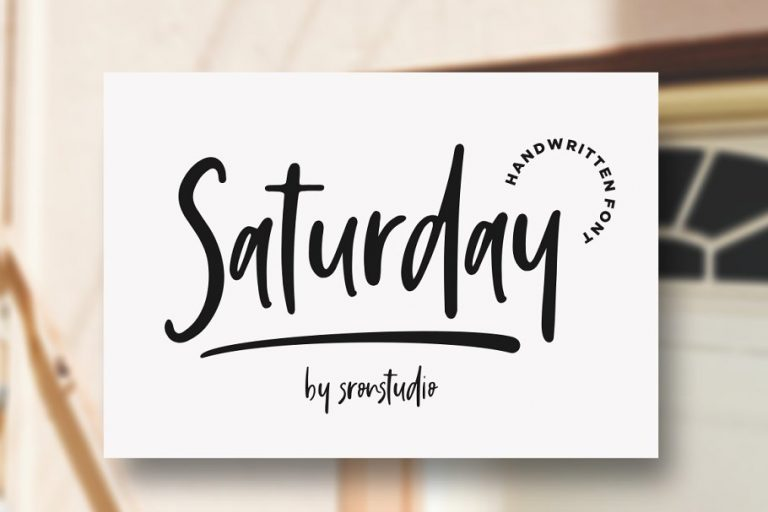 saturday-vibes-script-font-768x512
