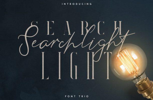 Searchlight Font Trio
