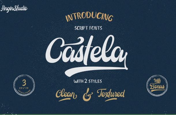 Castela Script Font