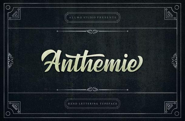 Anthemie Script Font Demo