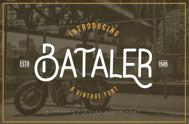Bataler Typeface