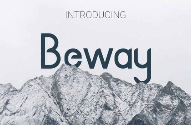 Beway Typeface