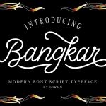 Bangkar Script Font
