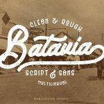 Batavia Typeface