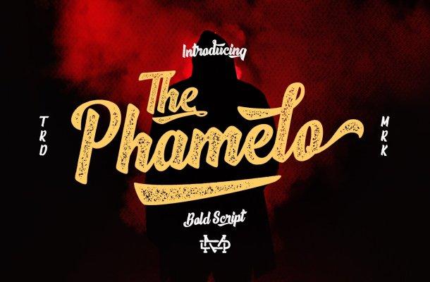 Phamelo Script Font