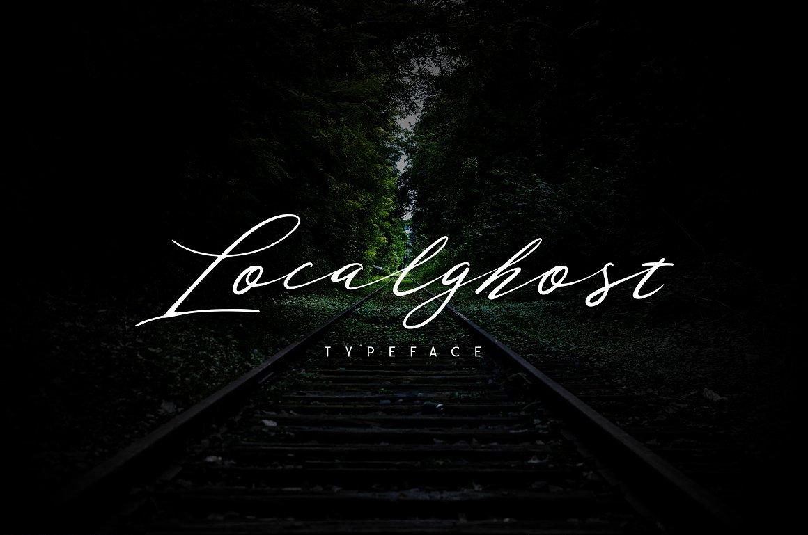 localghost-script-font
