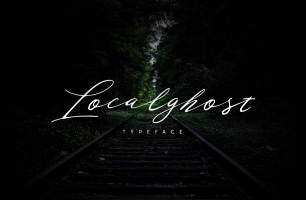 Localghost Script Font