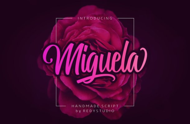 Miguela Script Font