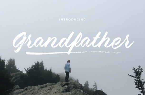 Grandfather Brush Script Font