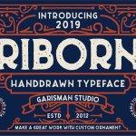 Riborn Typeface