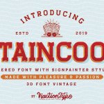 Staincool Layered Font