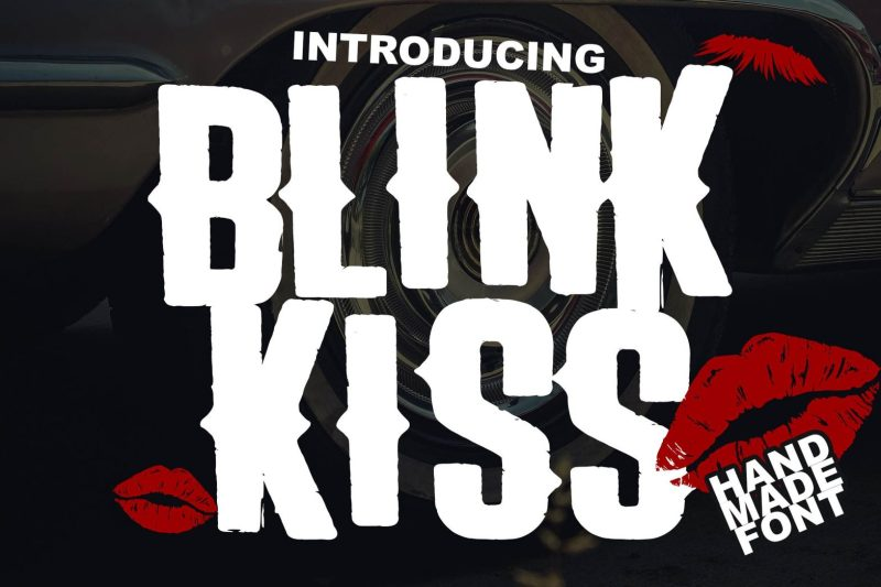 the-blink-kiss-logotype-font-5-1568x1045