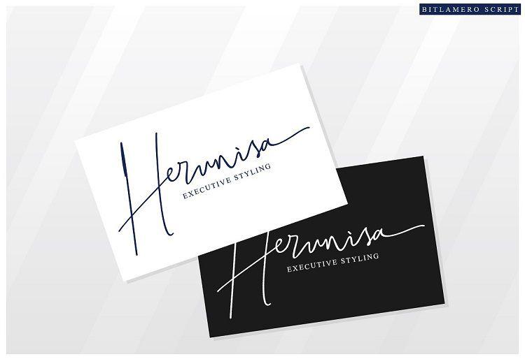 Bitlamero Signature Font-2