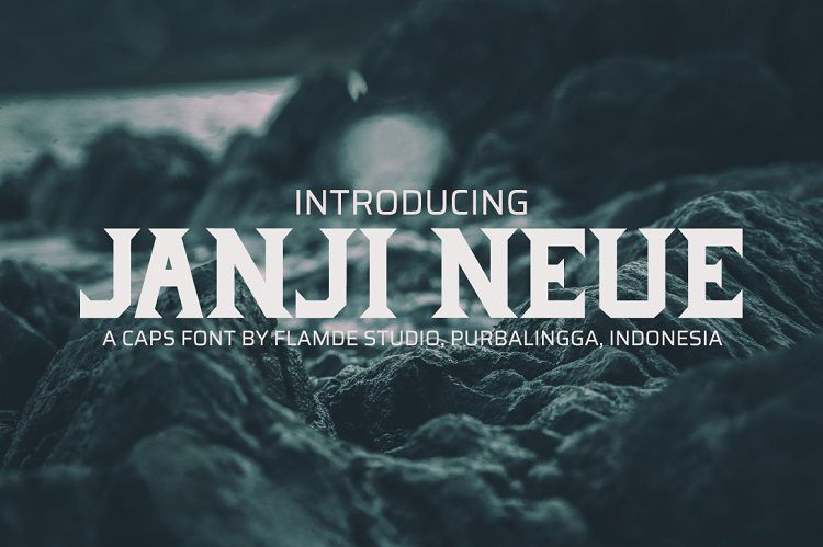 Janji Neue Typeface