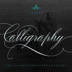 Peaches Calligraphic font
