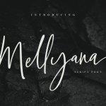 Mellyana Script Font
