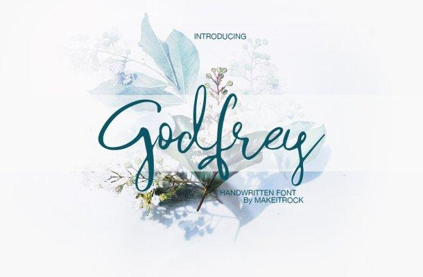 Godfrey Script Font